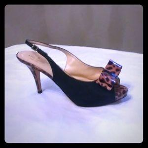 $198 KATE SPADE Shoes - Like New Peep Toe Pumps